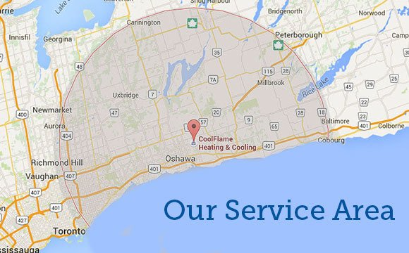 oshawa-whitby-kawartha-heating-air-conditioning-contractor-service-area-map-580x360